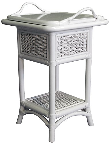 Spice Islands Regatta Serving Table, White