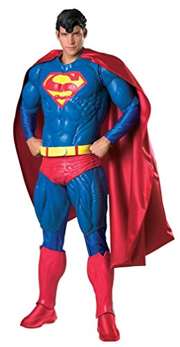 Rubies Supreme Muscle Chest Superman Collector Adult Costume - Standard | 909865