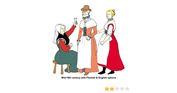 Amazon com: Elizabethan Commonwomen's Outfit Pattern: Arts