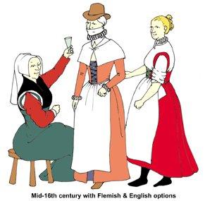 Elizabethan Commonwomen's Outfit Pattern ()