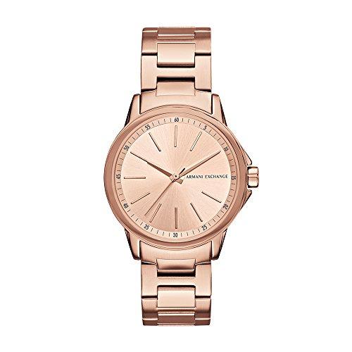 Armani Exchange Women's AX4347 Rose Gold Watch