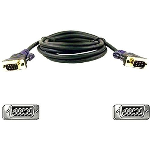 Belkin Display Cable 15 Pin - Belkin Gold Series display cable - 6 ft (F2N028-06-GLD) -