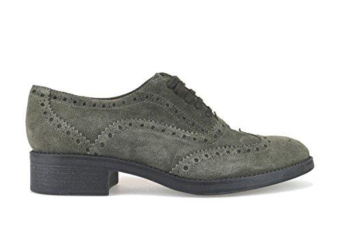TRIVER FLIGHT - Zapatos de cordones de ante para mujer beige Beige/Marrone