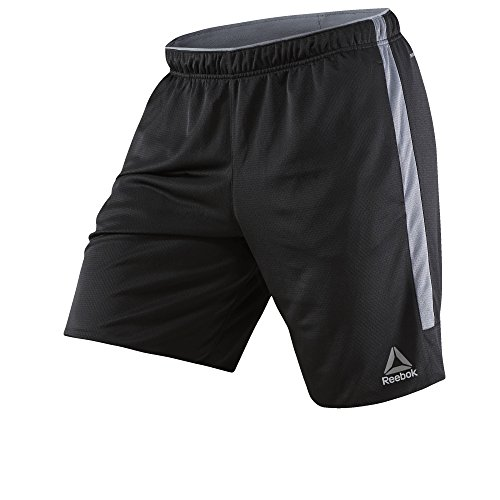 Reebok Men's Workout Ready Knit Shorts, Black, Medium