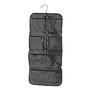 5854b910105f Amazon.com   Hanging Cosmetics Bag in Black by Baggallini   Beauty