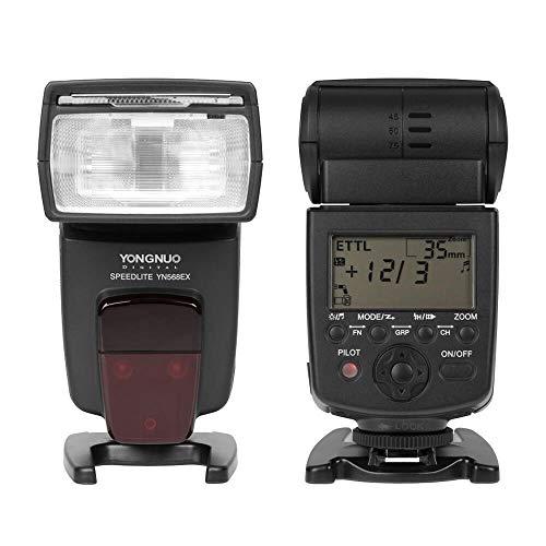 YONGNUO YN-568EX II 4-Channel TTL Flash Speedlite for Canon E-TTL/E-TTL II Cameras (Best Non Canon Flash)