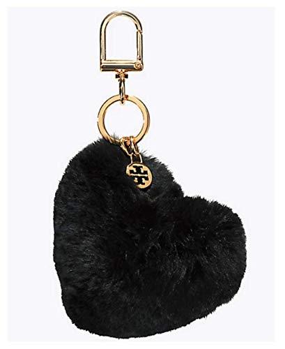Tory Burch Heart Key Fob- Black (Keychain Tory Burch)