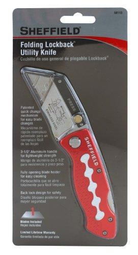 Sheffield 58113 Ultimate Folding Lockback Utility Knife