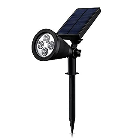 $26.99 Mpow Soleil P2 Super-bright Solar-Powered Spotlight Build in Auto-on/off Light Sensor