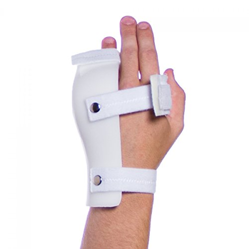 Boxer Fracture Splint Immobilizer for 4th and 5th Metacarpal-L-Left