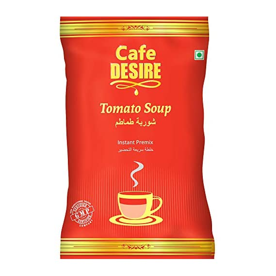 Cafe Desire Instant Tomato Soup Premix 500g | Make Tomato Soup in Seconds Just add Hot Water | Suitable for All Vending