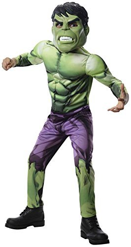 Rubie's Marvel Universe Classic Collection Avengers Assemble Deluxe Incredible Hulk Costume, Child Small -