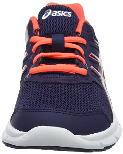 Coral Chaussures Running peacoat 5 Bleu excite flash Noir Asics Femme 400 De Gel qZt1ZPx