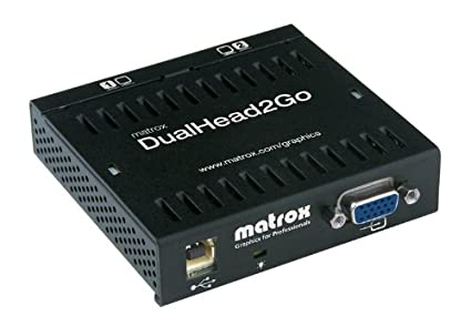 Matrox DualHead2Go Analog Edition Drivers for Mac Download