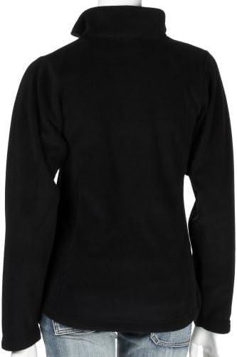 Tatonka Essential Topeka Lady Jacket Giacca in Pile da Donna, Donna, Black, 38