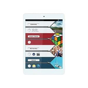 """Vexia Zippers - Tablet de 7.8"""" con GPS (WiFi, Bluetooth, Intel Atom Z2580, 16 GB, RAM de 1 GB, Android 4.2.2)"""