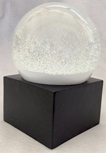 Modern Snow Globe Winter Wonderland Snowstorm 100mm Just Snow Day Snowball With Only Snow (100mm Snowglobe)