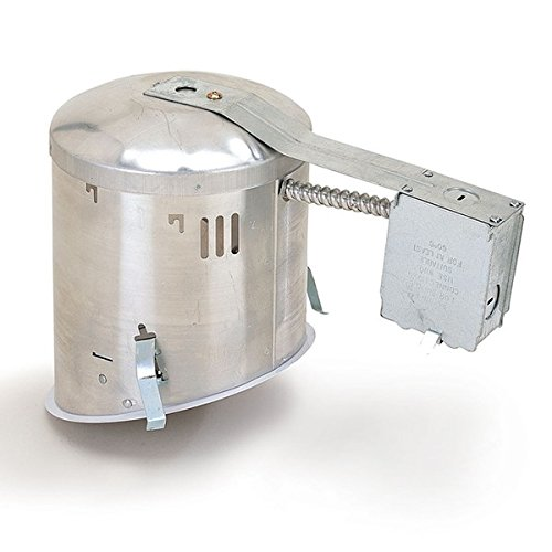 Nora Lighting NHIC-926QAT Quick Connect IC Air-Tight 6 Inch Sloped Ceiling Housing by Nora Lighting