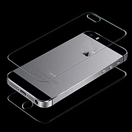 Techno TrendZ Real Tempered Glass Front and Back Mirror Screen Guard for Apple iPhone 5 / 5s