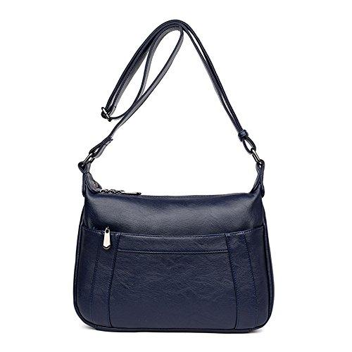 Sacs Travées Cuir De À Noir Mode Sacs GWQGZ En Blue Main Nouvelles FnBqRS550p