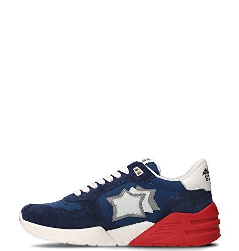 Atlantic Stars Sneakers Uomo MARSBMSN01 Pelle Blu