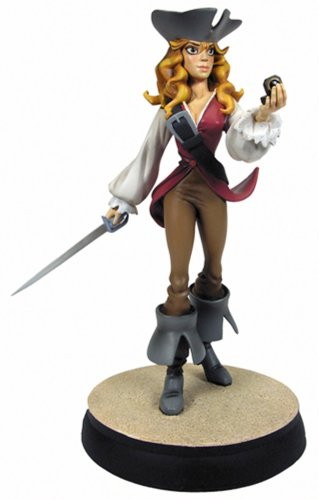 Gentle Giant Maquettes - Pirates of the Caribbean Gentle Giant Animated Maquette Elizabeth Swann