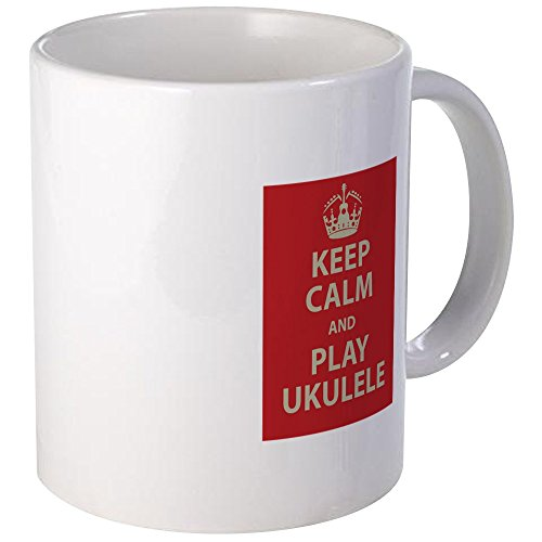 CafePress - Keep Calm And Play Ukulele Mug - Unique for sale  Delivered anywhere in Canada