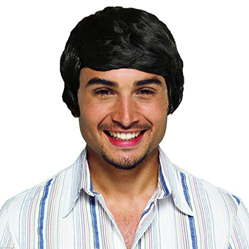 Willsa Fashion Charm Short Wig for Men Vogue Cosplay Party Costume Handsome Cool Wig