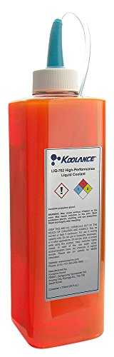 Koolance LIQ-702OR-B 702 Liquid Coolant, High-Performance, UV Orange, 700ml (24 fl oz)
