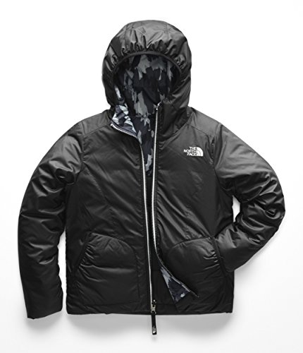 The North Face Kids Girl's Reversible Perrito Jacket (Little Kids/Big Kids) TNF Black 2 Small