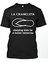 Glow In The Dark Chancla Saying Graphic Tshirt