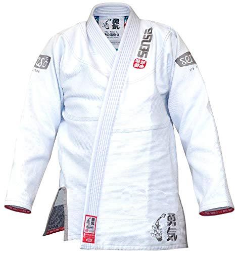 SENSO JIU JITSU The Yuki Gi (A3, The Yuki Gi) (Traditional Cotton Jacket Brushed)