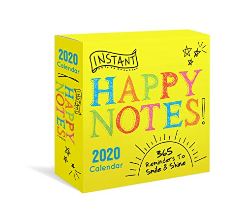 2020 Instant Happy Notes Boxed Calendar: 365 Reminders to Smile and Shine! Daily Desk Calendar Box