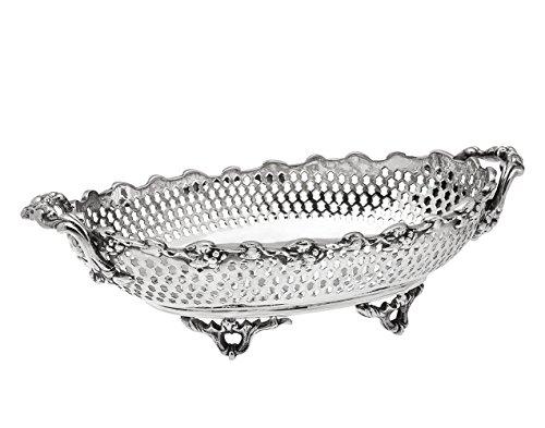 (Godinger 9854 Pierced Oval Basket,)