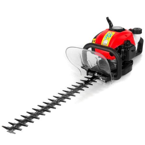Rotfuchs® 1,22 PS Benzin Heckenschere HDTR26 Rot mit 25,4 ccm, 55cm Schwertlänge