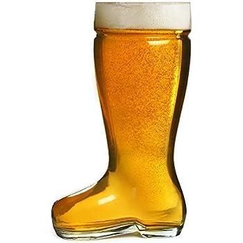 boot beer glass