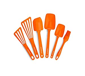 Rachael Ray 6-pc. Orange Nylon Tools Set