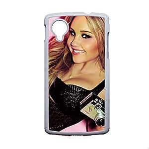 Printing With Amanda Bynes For Google Lg Nexus5 Thin Phone Case Choose Design 8