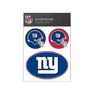 NFL New York Giants Medium Decal Pack