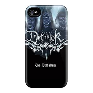 Great Hard Cell-phone Case For Iphone 4/4s (gSb1110kntE) Customized Stylish Dethklok Series