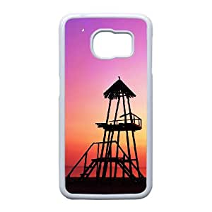 Good Phone Case With High Quality Dusk Pattern On Back - Samsung Galaxy S6 Edge