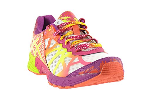 finest selection b8cf3 1efcd Asics Gel-Noosa Tri 9 Women's Shoes White/Flash Yellow/Plum ...