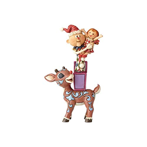 Enesco Traditions by Jim Shore Rudolph with Misfits 5.25 in Figurine