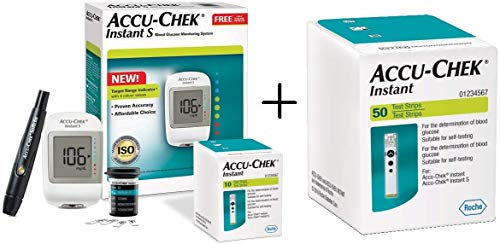 Instant S Meter with 10+50=60 Test Strips (Newly Launched)