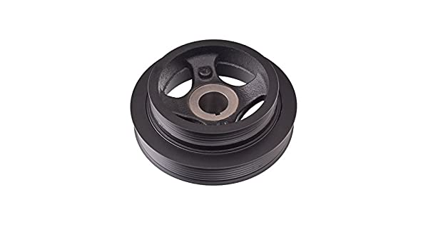 pack of one Blue Print ADB116103 Pulley decoupled for crankshaft with screw