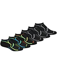 Men's Multi-Pack Performance Comfort Fit No-show Socks