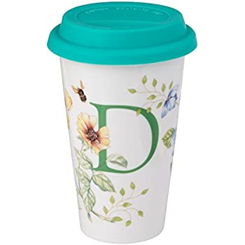 Amazon Com Lenox Butterfly Meadow Thermal Travel Mug D