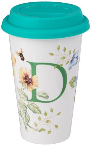 Butterfly Meadow Coffee - Lenox Butterfly Meadow Thermal Travel Mug, D