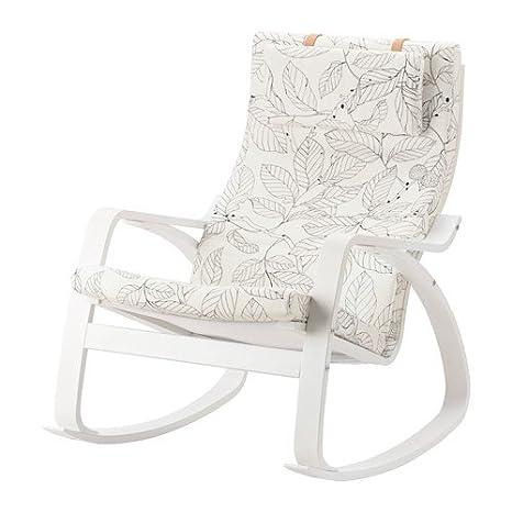 Ikea 18386.2658.1618 - Sillón de balancín, Color Blanco y ...