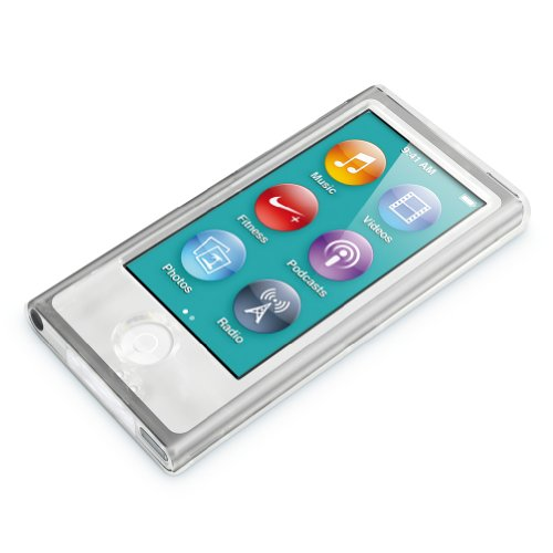 Minisuit Slim Snap-On Hard Shell Case Cover for Apple iPod Nano 7 or 8 / 7th or 8th Gen (Crystal Clear)